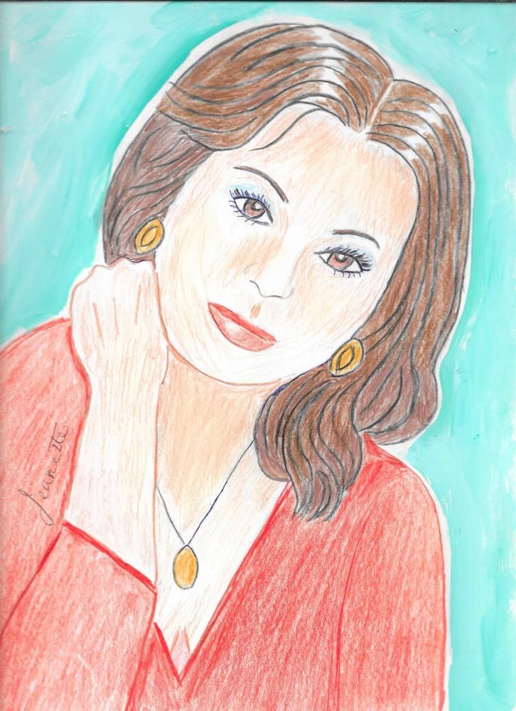 Sophia Loren par Jeanette